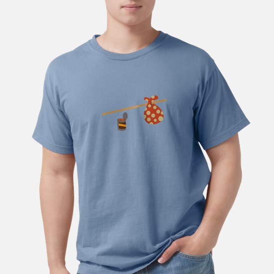 Funny Hobos Mens Comfort Colors Shirt