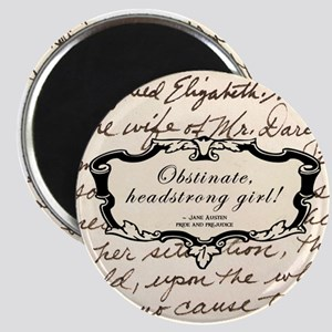 Obstinate Elizabeth Bennet Magnets