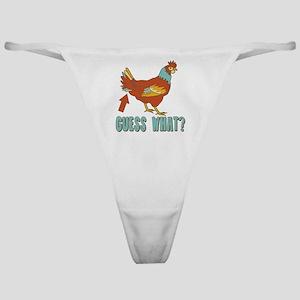 Chicken Butt! Classic Thong