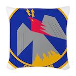964th AACS Woven Throw Pillow
