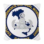 EOD Mobile Unit 8 Woven Throw Pillow