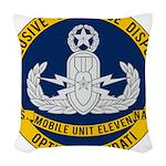 EOD Mobile Unit 11 Woven Throw Pillow