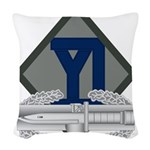 26th Infantry CAB Woven Throw Pillow