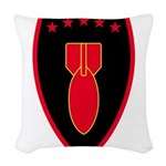 71st EOD Woven Throw Pillow