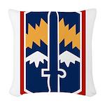 171st Infantry Bde Woven Throw Pillow