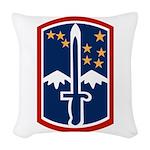 172nd Infantry Bde Woven Throw Pillow