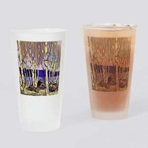 Evening Canoe Lake, Tom Thomson pai Drinking Glass