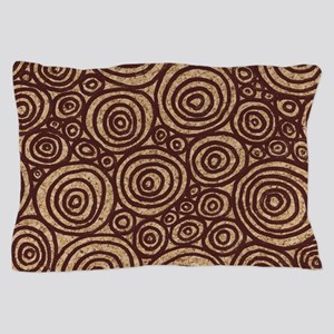 Circles Pillow Case in Earth