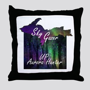 UP Aurora Hunter Throw Pillow