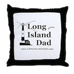 Long Island Dad Throw Pillow