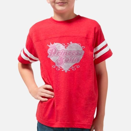 Princess_sofia Youth Football Shirt