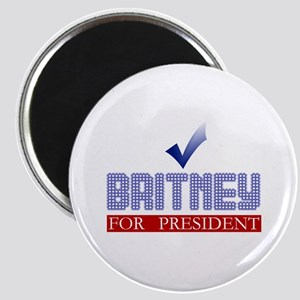 Britney for Prez Magnet