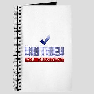 Britney for Prez Journal