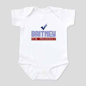 Britney for Prez Infant Bodysuit