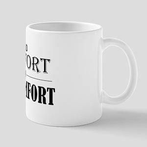 Find Comfort In Discomfort Mugs