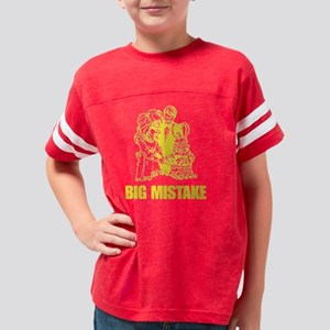 BigMistakeY Youth Football Shirt
