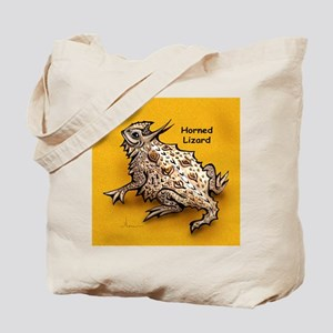 Horned Lizard Horny Toad Tote Bag