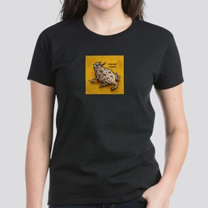 Horned Lizard Horny Toad Women's Dark T-Shirt