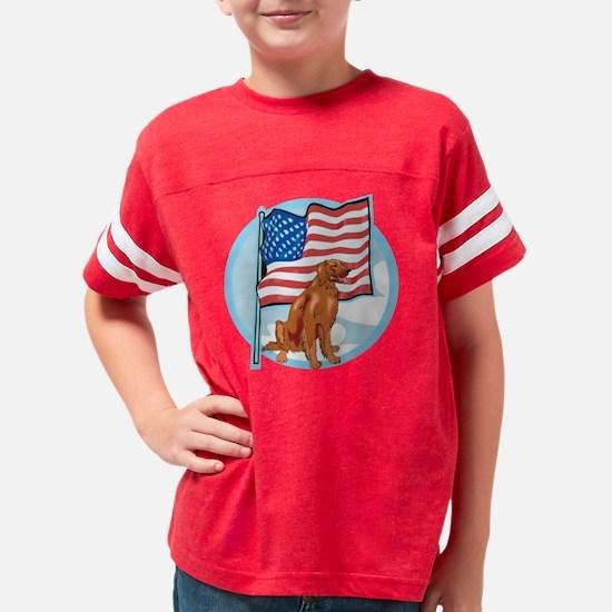 irishflag Youth Football Shirt