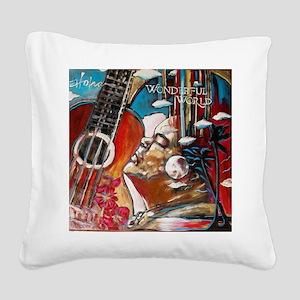 Brother Iz Square Canvas Pillow