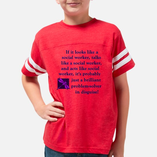 3-brilliant problem solver Youth Football Shirt