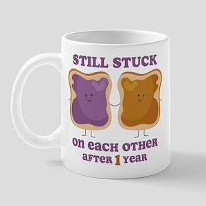 PBJ 1st Anniversary Mug