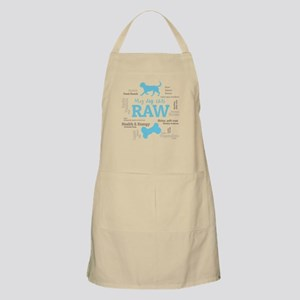 My Dog Eats Raw Because - Word cloud Blue Apron