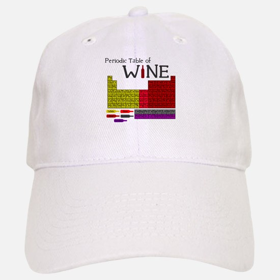 Periodic Table of Wine Baseball Baseball Cap