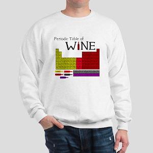Periodic Table of Wine Sweatshirt