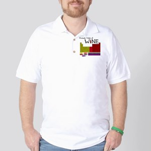 Periodic Table of Wine Golf Shirt