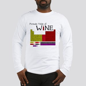 Periodic Table of Wine Long Sleeve T-Shirt