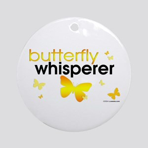 Butterfly Whisperer Ornament (Round)
