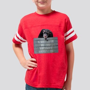 Marriage Monkey Business Youth Football Shirt