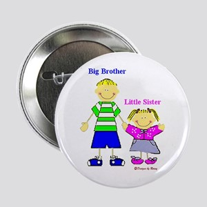 Big Brother Little Sister Button