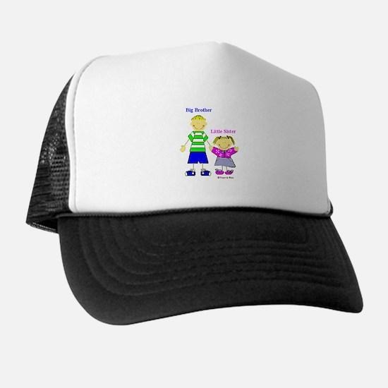 Big Brother Little Sister Trucker Hat