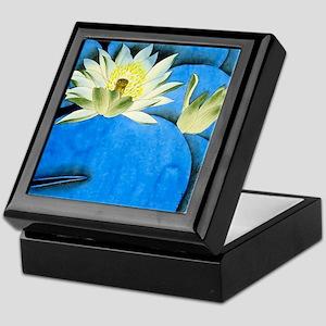 Oriental Art -Floral  Keepsake Box
