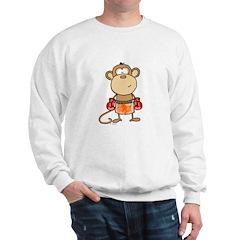 Boxing Monkey Sweatshirt