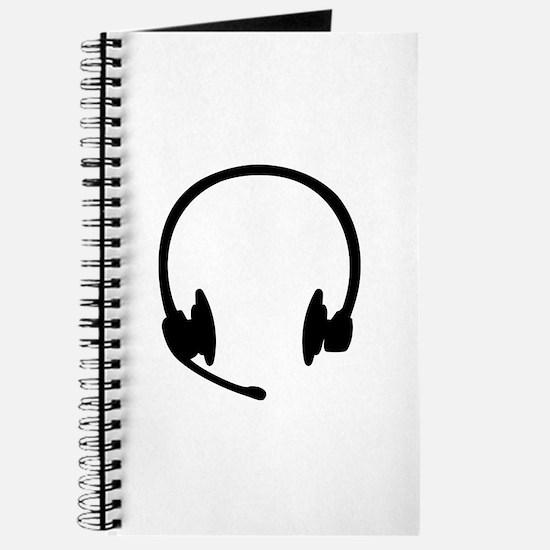 Headset headphones Journal
