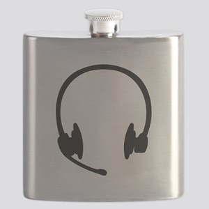 Headset headphones Flask