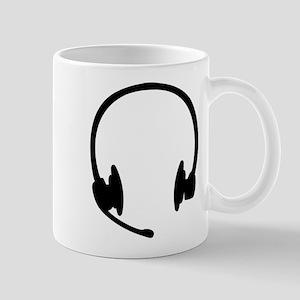 Headset headphones Mug