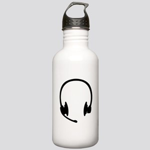 Headset headphones Stainless Water Bottle 1.0L