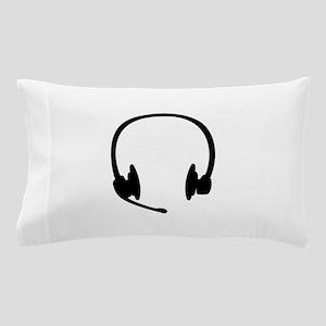 Headset headphones Pillow Case