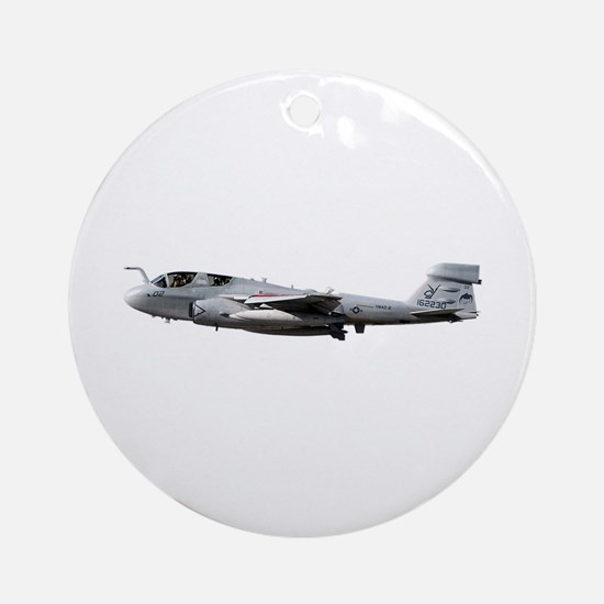 EA-6B Prowler Aircraft Ornament (Round)