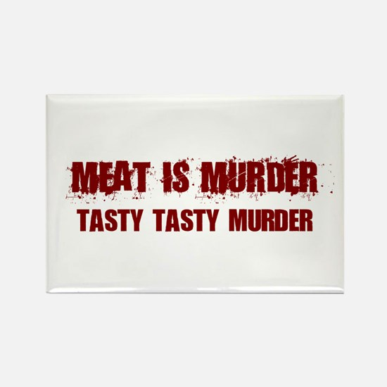 Meat Is Murder Tasty Tasty Murder Magnets
