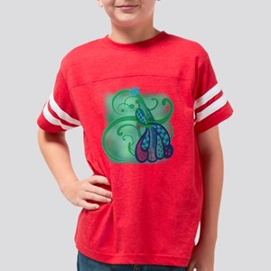 PRETTYPEACOCKTWO Youth Football Shirt