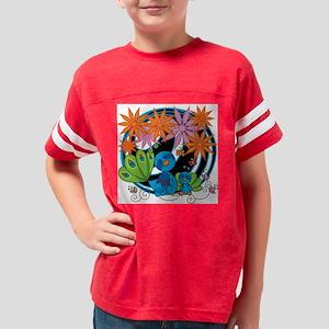 littlepeacockfive Youth Football Shirt