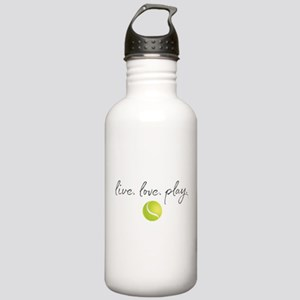 Live Love Play Tennis Stainless Water Bottle 1.0L