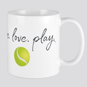 Live Love Play Tennis 11 oz Ceramic Mug