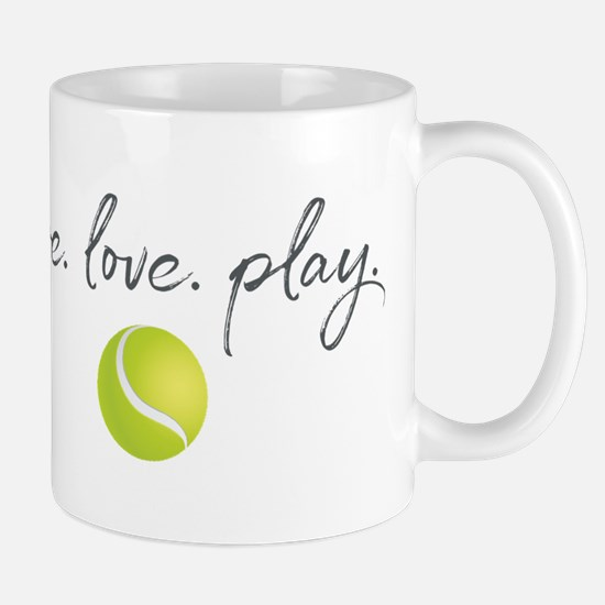 Live Love Play Tennis Small Mug