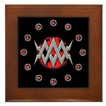 """Limited Edition WMA """"Circle Of 13"""" Framed Tile"""